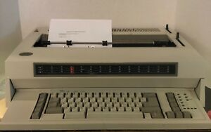 Ibm 6783 Lexmark Wheelwriter 10 Series Ii Typewriter Tested Working Condition