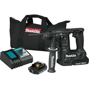Makita Xrh06rb 18v Lxt Lithium ion Sub compact Brushless Cordless 11 16 Rotary