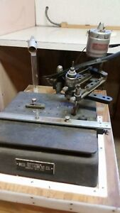 Early Mico Instrument M i t Pantograph Engraving Machine
