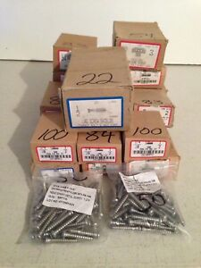 Lot Of 3 424 Misc Wholesale Screws And Bolts