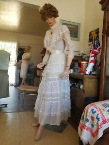 Vintage Antique Milio Mannequin New York City Adj Waist