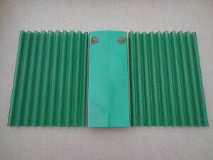 John Deere 50 520 530 Set Of Grill Screens And Center Plate For Nose Cone