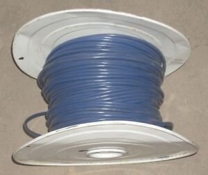 10 Awg Blue Machine Tool Wire White Roll Copper Electrical Wire 16 74 Lbs