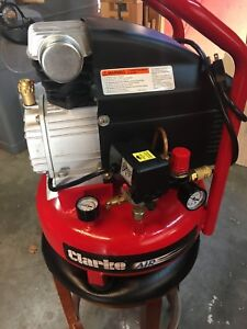 Clarke Air Compressor 4 Gallon 2 Hp 7 75 Cfm
