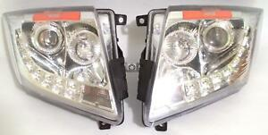 Spec D Projector Headlights For 2008 2013 Cadillac Cts Parts 2009 2010 2011 20