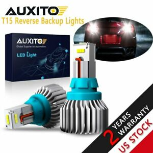 Auxito 2x 921 Led Csp Bulb Canbus High Power Reverse Backup Lights 912 T15 W16w