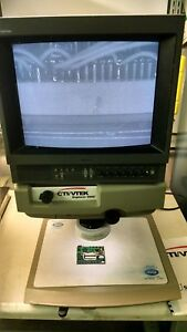 Cti vtek Explorer 2000 Video Magnifier With Monitor Microscope
