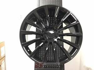 4 Set Of Brand New S550 Style 19 Amg Black Rims Wheels Fits Mercedes Benz