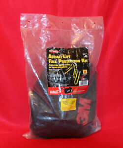 Aerial Lift fall Protection Kit 5 Point Universal Harness 6 Ft Harness
