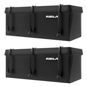 Rola Tuffbak Rainproof Waterproof Luggage Trailer Hitch Cargo Carrier 2 Pack