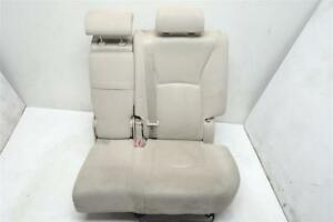 01 02 03 04 05 06 07 Toyota Highlander Rear Driver Left Seat Second Row Tan