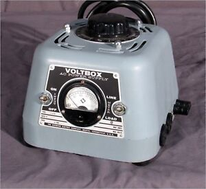 Superior Electric Uc1mb 140v 10a Variac Voltbox Dual Outlet Variable Transformer