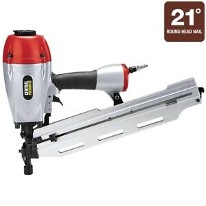 3 in 1 Framing Air Nailer Handle Nearly Any Project Central Pneumatic Patented