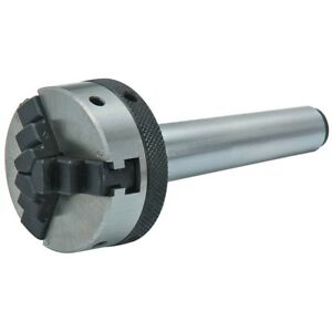 2 Mt1 Shank Mini Lathe Drill Chuck Versatile Lachuck For Turning Or Drilling