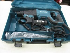 Makita Hr2641 Sds Plus 1 Avt Corded Rotary Hammer W Foregrip Excellent
