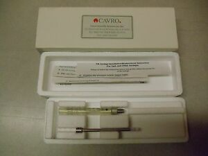 6 New Cavro Xr 1000ul Syringes 728377