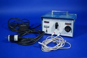 Codman Malis Bipolar Coagulator Esu Electrosurgical With Leads And Foot Pedal