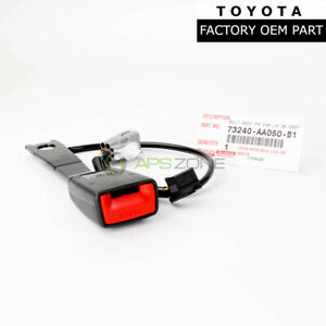 Genuine Toyota Camry 02 03 Camry Front Left Seat Belt Buckle Oem 73240 Aa050 B1