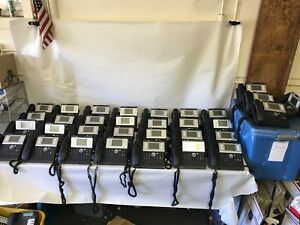 Lot Of 32 Alcatel Lucent Ip Business Phones Model 4038 W Stands
