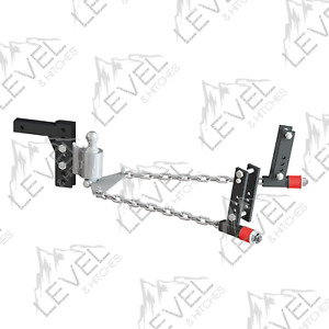 Anderson V2 3398 No Sway Weight Distribution Hitch 2 1 2 Shank