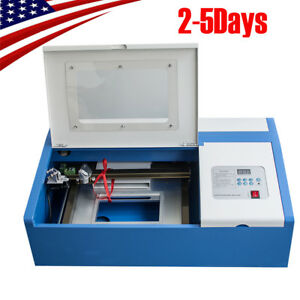 Co2 Laser Engraving Cutting Machine Engraver Cutter Usb Port 110v usa Ship