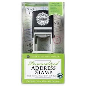 Custom Designer Address Self inking Stamp