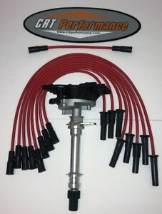 Chevy gmc Truck Vortec 1996 2000 7 4l V8 454 Distributor Red Plug Wires Usa