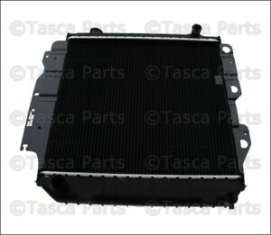 New Oem Mopar Radiator 2002 2006 Jeep Wrangler W Manual Transmission 55037652aa