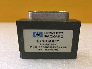 Hp Agilent 85016 Transmission Line Test Software For 8756a 8757a Analyzers