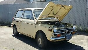 1971 Honda N 600 Coupe Parts Car Free Engine Transmission Axles No Reserve