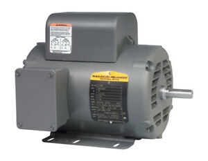 Baldor Air Compressor Electric Motor L1430t 5hp 1725 Rpm 230v 1ph 184t New