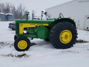 1958 John Deere 830 Tractor Electric Start Restored 730 530 330 430 1959 1960