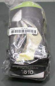 12 Pairs Ansell Hyflex Cut Resistant Work Gloves 11 501 Size 10 Yellow black