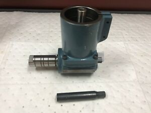Gem Power Right Angle Milling Head Adapter R8 Spindle Bridgeport Type