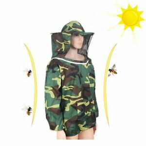 Beekeeping Jacket With Bee Keeping Hat Bee Proof Half Clothing With A Pocke