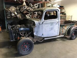 1936 Ford Pickup Truck Cab Bed And Grille