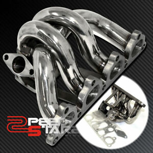 Honda Civic crx del Sol D15 d16 T3 T3t4 Turbo Flange Stainless Manifold gasket