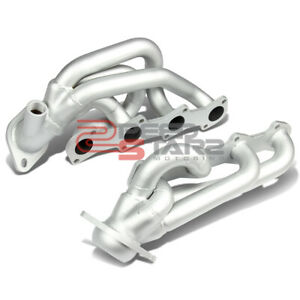 Paint Finished Race Manifold Header For 97 03 Ford F150 F250 Expedition V8 5 4l