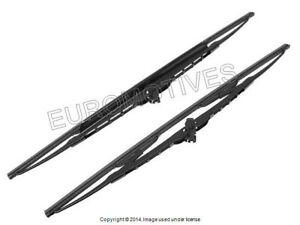 Bmw E36 Windshield Wiper Blade Set 20 21 Front Oem Bosch Windscreen Wiping