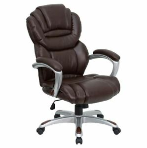 Home Office Chair Best Reclining Executive Back Support Leather Ergonomic Seat