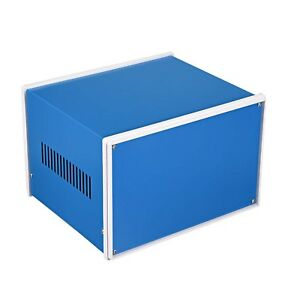 Uxcell Metal Blue Project Junction Box Enclosure Case 210 X 180 X 140mm 8 27 X