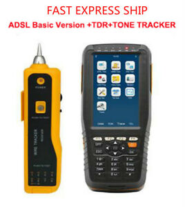 Adsl Adsl2 Tester Adsl Wan Lan Tester With Tone Tracker And Tdr Fault Locator
