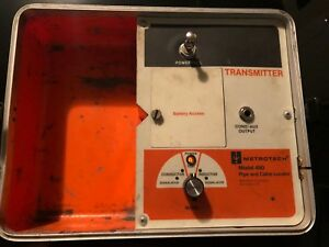 Metrotech 480 Pipe And Cable Locator Transmitter Receiver