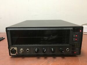 Audio Control Sa 3050a Third Octave Real Time Spectrum Analyzer As Is Oo422