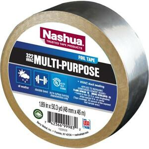 Nashua Tape Select 1 89 In X 50 Yd 322 Multi purpose Hvac Foil Tape Heating