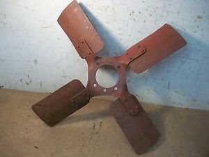 Lot D Old Ihc Or Farmall Tractor Fan Blade 17 7 8 5 Bolt Hole Marked 46 W 6