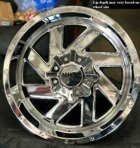 4 New 20 Wheels Rims For Avalanche Express Van 1500 Astro Van Colorado 6938