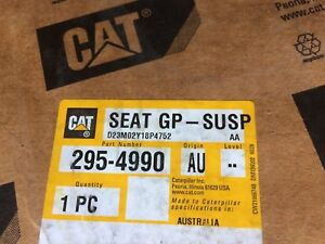 Caterpillar 295 4990 Seat Group With Suspension 2954990