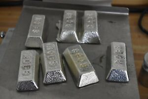 Pewter Ingots Tin 5 Lbs For Hobbies Bullets Casting Etc
