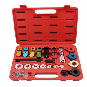 22pc Air Conditioning Fuel Oil Transmission A c Line Disconnect Tools Set W Box